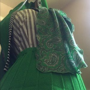 1950-63 Green Paisley Scarf